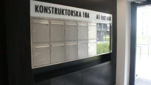 Skrzynki pocztowe RENZ Brodnica Rypin Lubawa Nowe Miasto