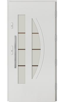 Drzwi zewnętrzne Barański Płytowe Simple