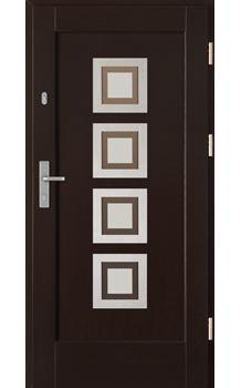 Drzwi zewnętrzne Barański Modern Inox
